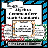 Algebra Common Core Standard Posters {Chevron}
