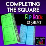 Algebra Completing the Square Foldable for Quadratic Equations