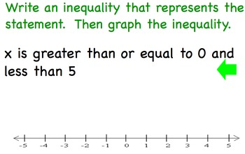 """Compound Inequalities Involving """"and"""""""