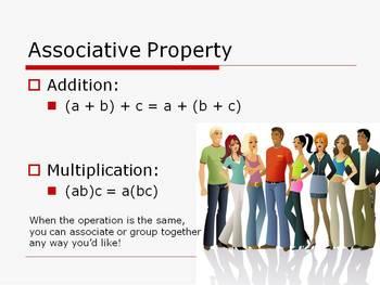 Algebra Concepts:  Algebraic Properties