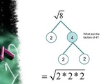 Algebra Concepts:  Solving Square Roots and Cube Roots