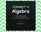 Algebra - Connect 4 Game