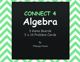 Algebra - Connect 4 Game