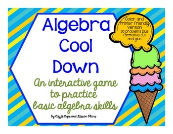 Algebra Review Interactive Game