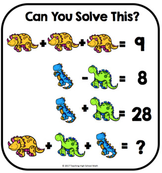 Algebra Critical Thinking Can You Solve This Equation