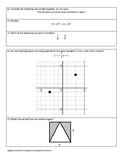 Algebra Critical Thinking Pre-Assessment
