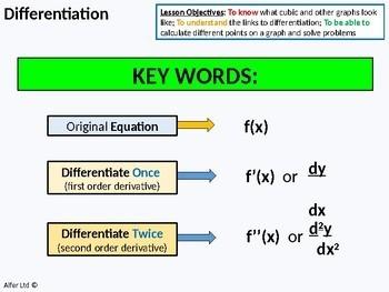 Algebra: Differentiation 3 (Calculus) - 2nd Differential