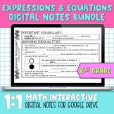 Algebra Digital Notes for Distance Learning