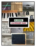 Algebra Distance Learning Activity Scavenger Hunt