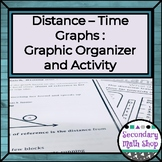 Algebra:  Distance / Time Graphs:  Graphic Organizer and Activity