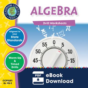 Algebra - Drill Sheets Gr. PK-2