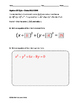 Algebra EOC Quiz - Circles BUNDLE
