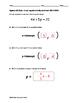 Algebra EOC Quiz - Linear Equations in Standard Form BUNDLE