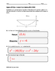 Algebra EOC Quiz - Parabolic Conic Sections BUNDLE