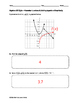 Algebra EOC Quiz - Piecewise Functions & Solving Equations Graphically BUNDLE