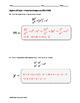 Algebra EOC Quiz - Properties of Exponents BUNDLE