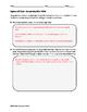 Algebra EOC Quiz - Sample Bias BUNDLE