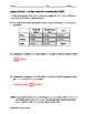 Algebra EOC Quiz - Two-Way Tables with Probability BUNDLE