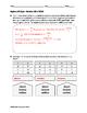 Algebra EOC Quiz - Variation BUNDLE