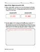 Algebra EOC Quiz - Weighted Averages BUNDLE