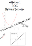 Algebra EOC Review Booklet