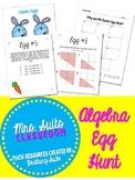 Algebra Egg Hunt