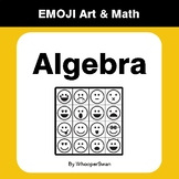 Algebra - Emoji Art & Math - Draw by Number | Coloring Pages