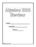 Algebra EOC STAAR Review