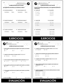 Álgebra: Enunciados de número y  familia de operaciones Gr. PK-2