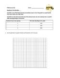 Algebra Equations Performance Task Assessment (2 forms)
