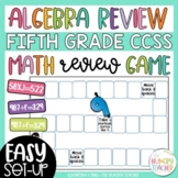 Multiplication and Division Algebra Math Game for Middle Grades