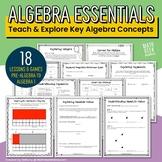Algebra Essentials: Pre-Algebra & Algebra 1 Lessons & Practice
