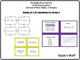 Algebra Evaluate Expressions, Write Expressions, & Ordered