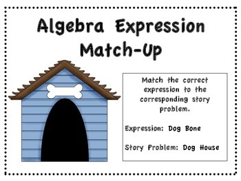 Algebra Expression Match-Up