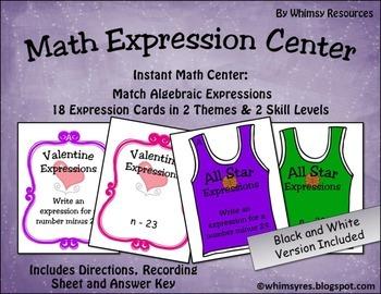 Math Expression Center