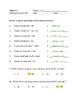 Algebra - Factor a GCF Polynomial Worksheet (with key)