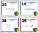 Algebra Factoring Bundle of 6 Resources Task Cards Quiz HW