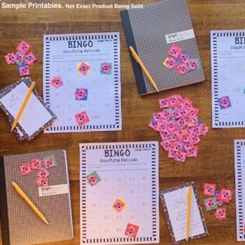 Algebra: Factoring #1 Math Bingo Review Game