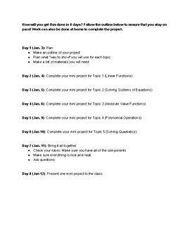 Algebra Final Project
