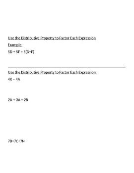Algebra Finals Review