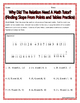 Slope - Finding Slope From Points and Tables Practice Riddle Worksheet