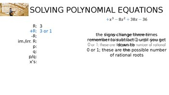 Algebra - Finding the Roots of Polynomials