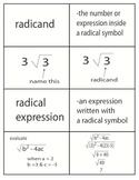 Algebra Flash Cards & Example Problems