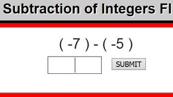 Algebra Flashcards - Integer Operations Flashcards Website