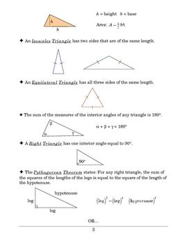Algebra: Formulas From Geometry