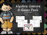 Algebra Games and Centers Pack