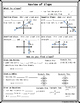 Algebra / Geometry - Review of Slope Graphic Organizer  Handout