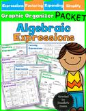 Algebraic Expressions - Simplifying, Expanding & Factoring