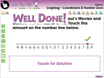 Algebra: Graphing Coordinates & Number Lines - Learn the Skill - NOTEBOOK Gr 3-5