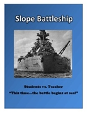 Algebra: Graphing Linear Equations Activity - Slope Battleship Game